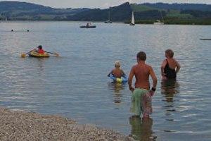 Erlebnis - Strandbad Drobollach